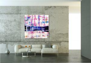 abstraktes kunstwerk von Pete Schroeder