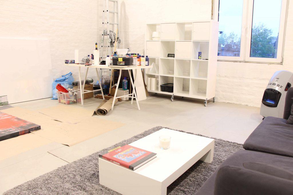 Atelier von Pete Schroeder