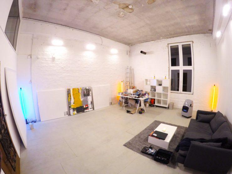 Künstler sucht Atelier