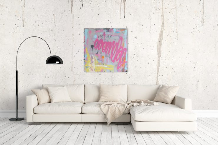 Pete Schröders Urban Art Style Malerei