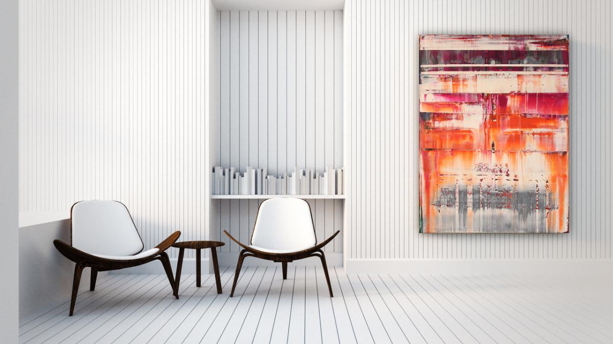 Acryl Gemälde XXL von Pete Schröder