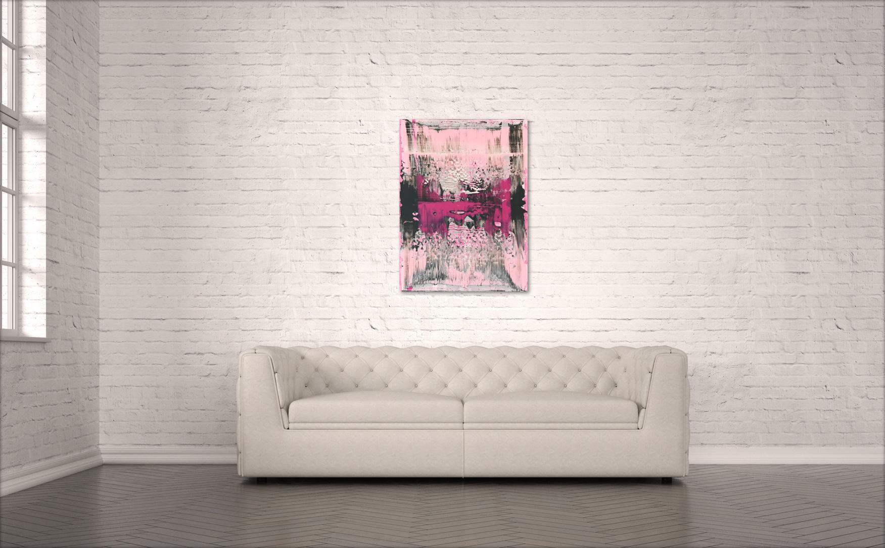 Kunstwerk Believe in Pink