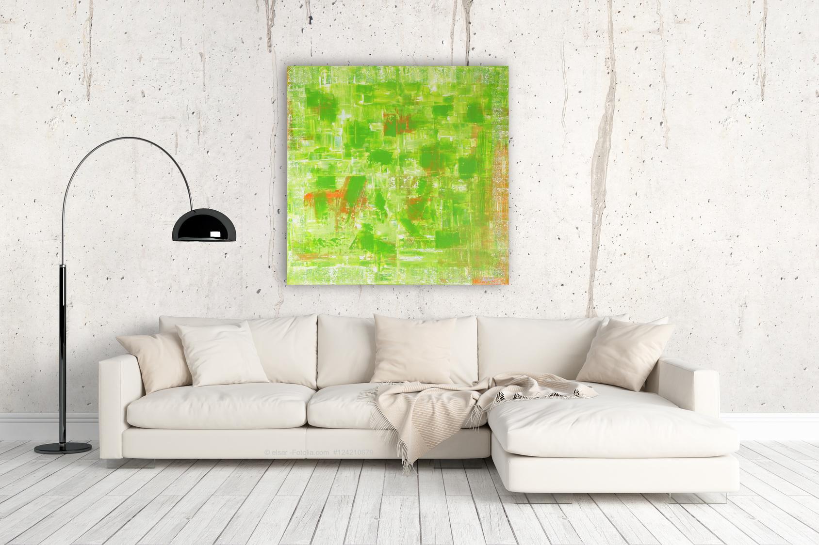 Pete Schroeder´s Kunstwerk mit dem Titel: Lemongrass