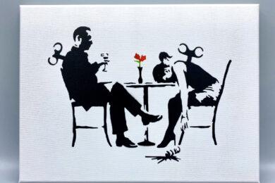 Original Banksy Acryl Reproduktion